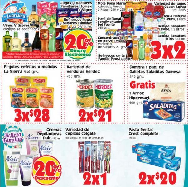 Ofertas de fin de semana del 1 al 4 de marzo en Soriana Híper y Mercado
