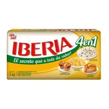 Sam's Club: Margarina Iberia sin sal 1 Kg