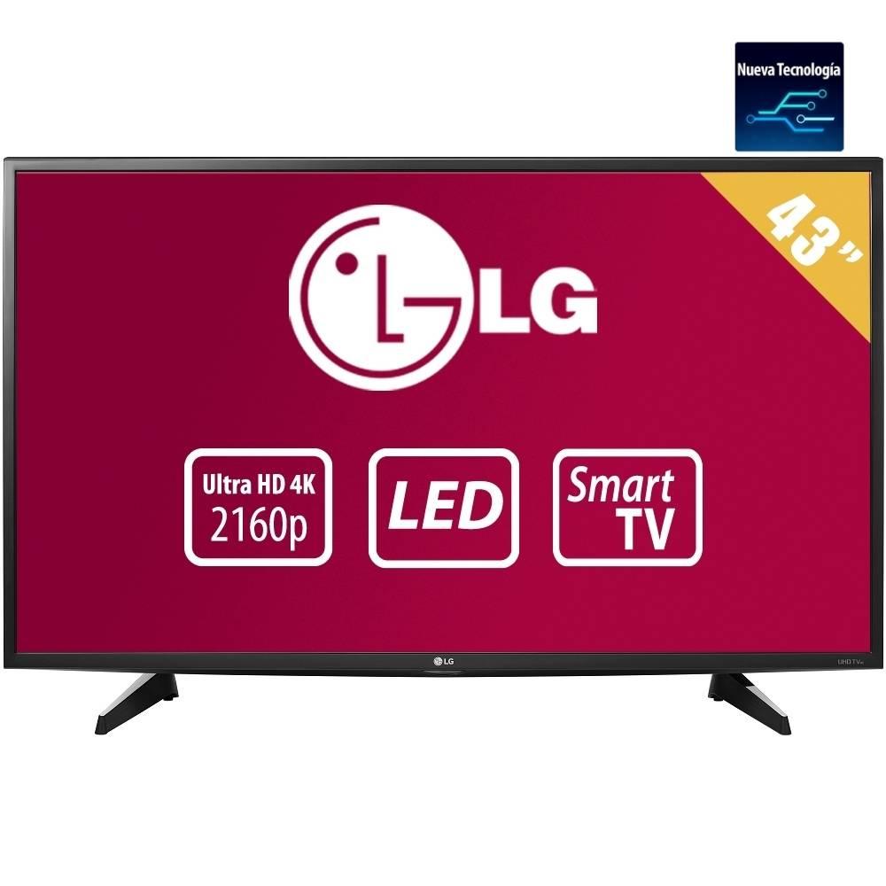 "Walmart Online: TV LG 43"" 4K Smart TV modelo 2016 $10,499 con hasta 18 MSI ($583.28 al mes)"