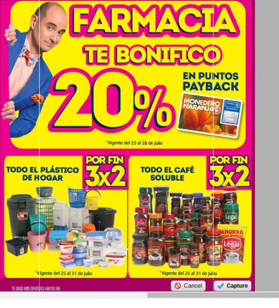 Ofertas de Julio Regalado en La Comer: bonificación en farmacia