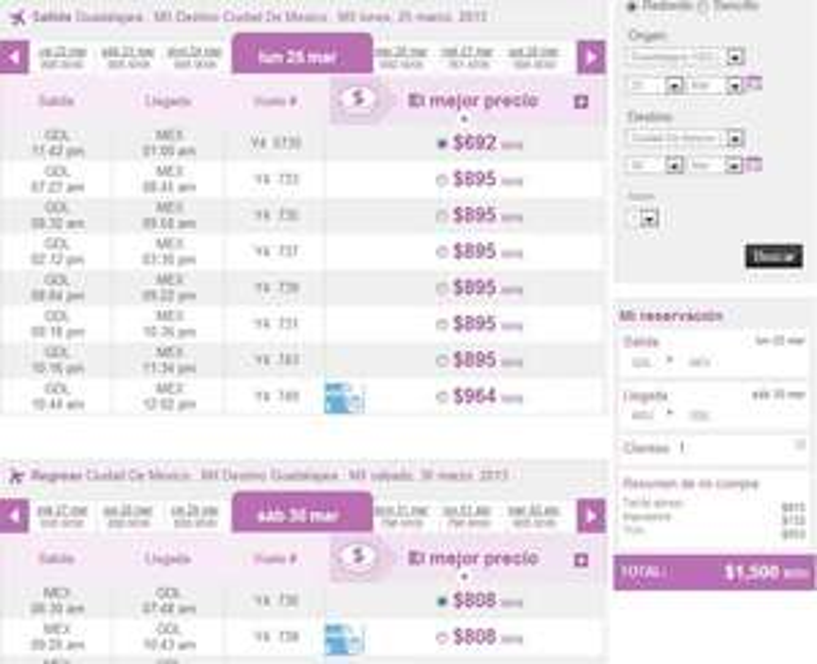 Volaris: vuelos nacionales desde $999 y a USA desde $175 dólares en marzo y abril