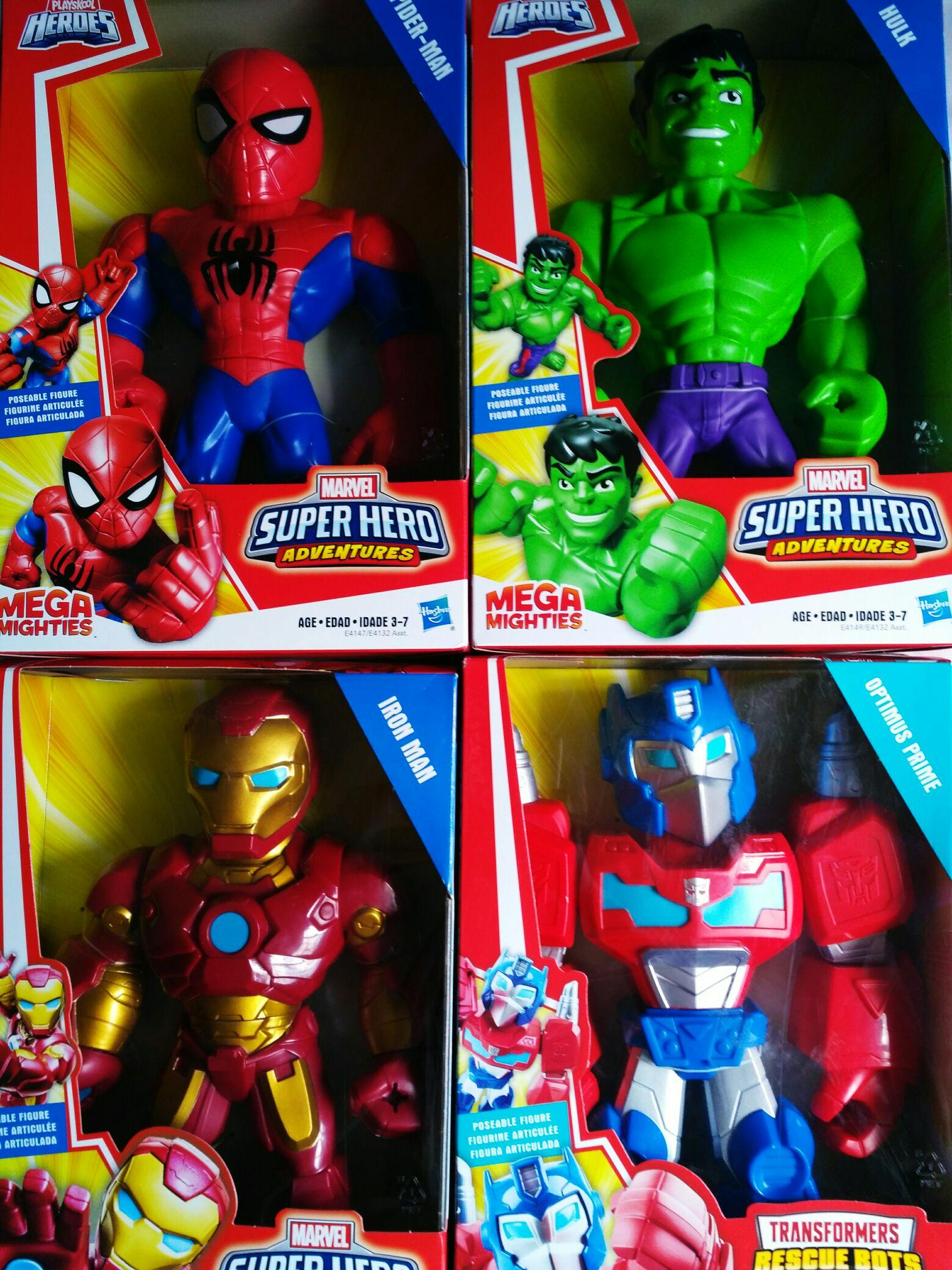 Bodega Aurrera, figuras articuladas Marvel Super Hero
