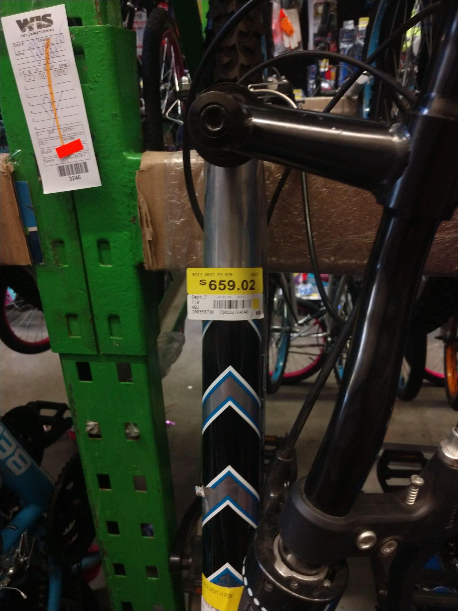 Bodega Aurrerá: Bicicleta next r26 18v