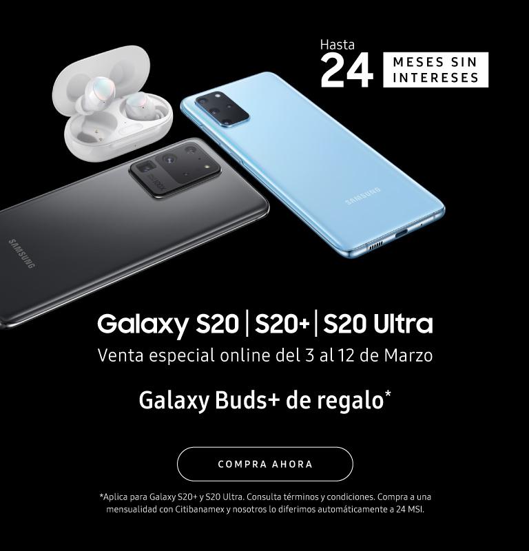 Samsung Store: S20 ULTRA Y S20+ GRATIS GALAXY BUDS