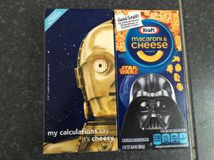 Walmart: Macaroni & Cheese Kraft versión Star Wars