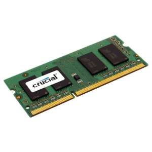 Amazon: Memoria RAM Crucial 8Gb DDR3 1600MHz  para Laptop a $394