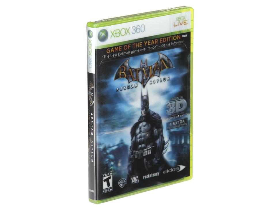 Liverpool en línea: Batman Arkham Asylum para Xbox 360 a $212