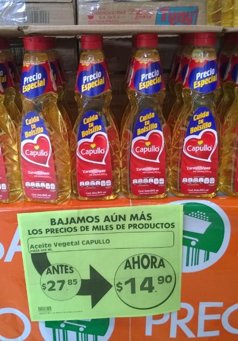Comercial Mexicana: Aceite Capullo 845ml a $14.90, Act II Plantas vs Zombies a $13.45