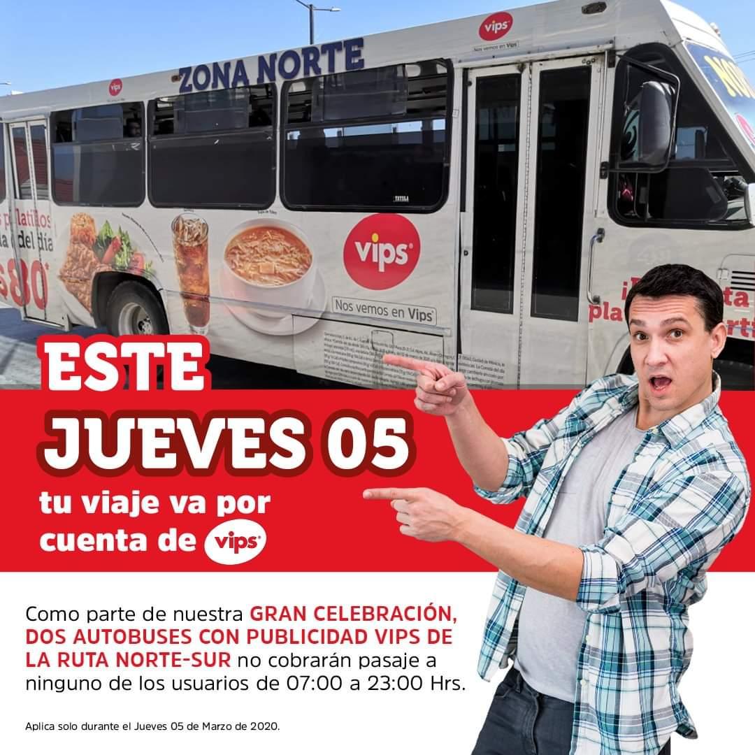 Vips Veracruz: Gratis. Tu viaje va por nuestra cuenta