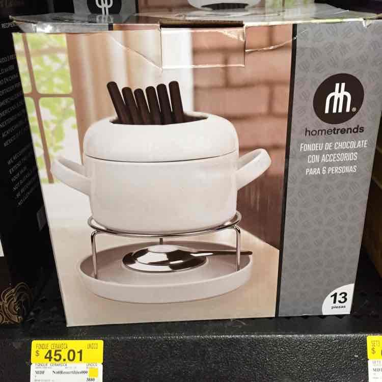 Walmart: set para fondue con accesorios para 6 personas a $45.01