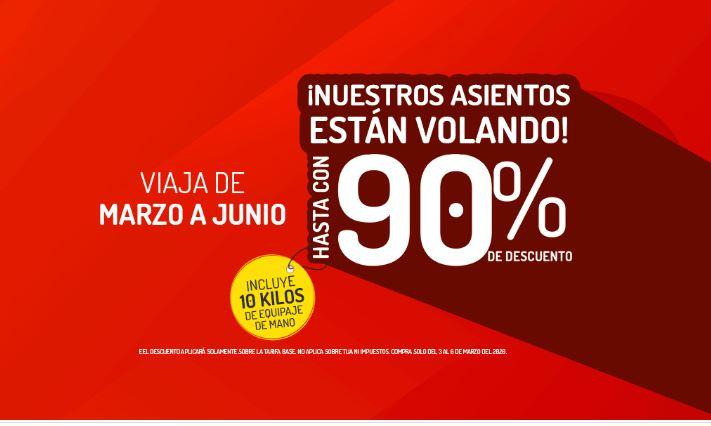 Vivaaerobus.com ¡VUELA CON HASTA 90% DE DESCUENTO! VIVA AEROBUS