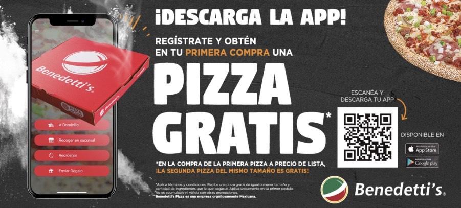 Benedetti's: 2x1 en pizzas