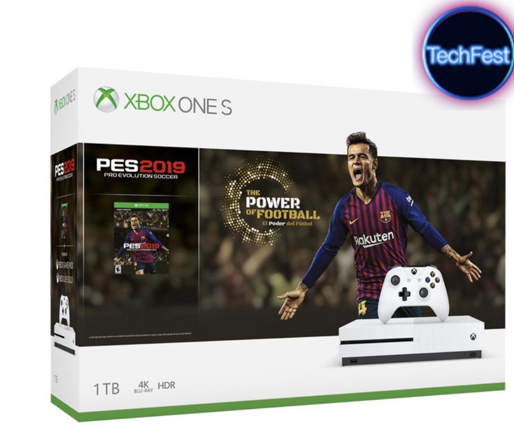 Costco: Xbox One S 1 TB + Pro Evolution Soccer 2019 $2,999