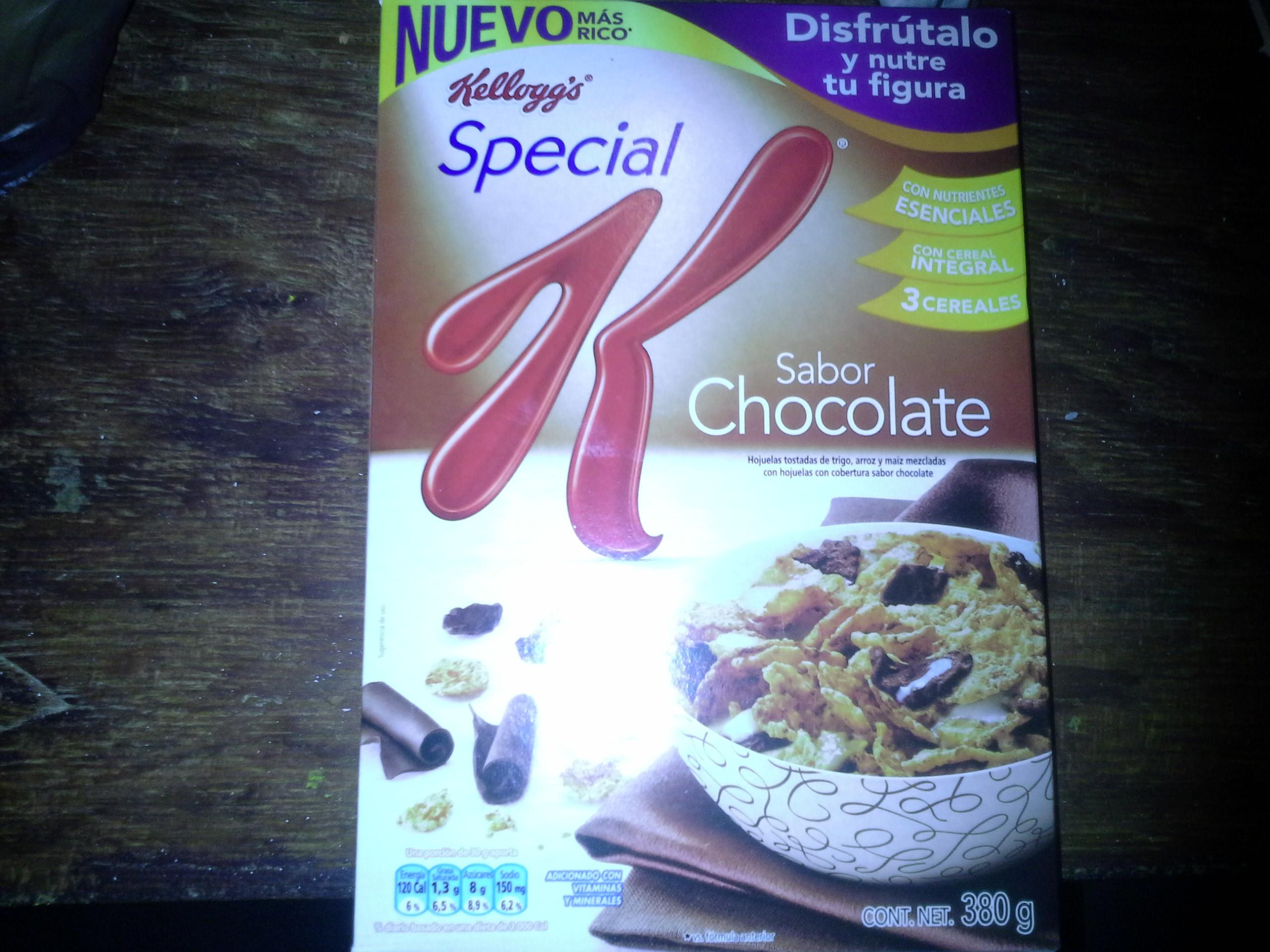 Comercial Mexicana: Special K Sabor Chocolate de Kelloggs de $45.30 a $20 pesos