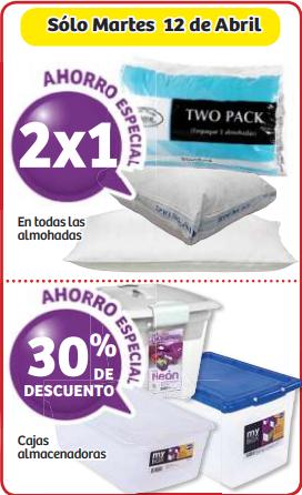 Soriana: 2x1 en almohadas y -30% en cajas almacenadoras
