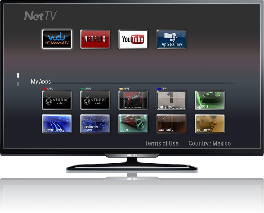 Linio: Smart TV Philips 55'' Full HD 120Hz a $8,999 ($8,099 con PayPal)