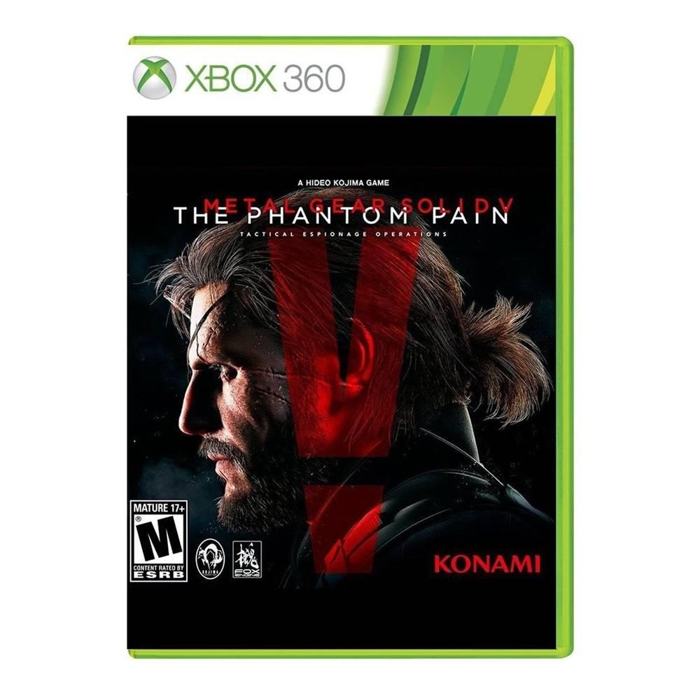 Walmart en línea: Metal Gear Solid V The Phantom Pain para Xbox 360 a $299 con Envío Gratis