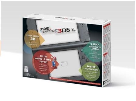 Amazon: New Nintendo 3DS XL Negro a $3,999