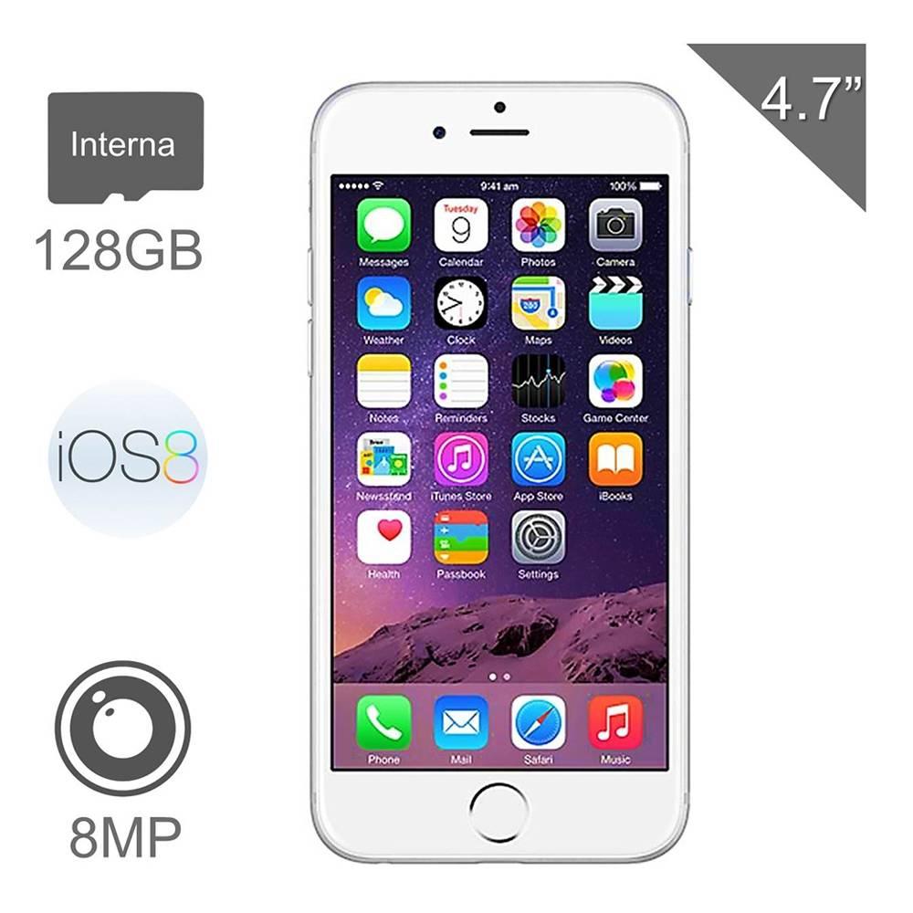 Walmart en línea: iPhone 6 de 128Gb Iusacell a $7,999
