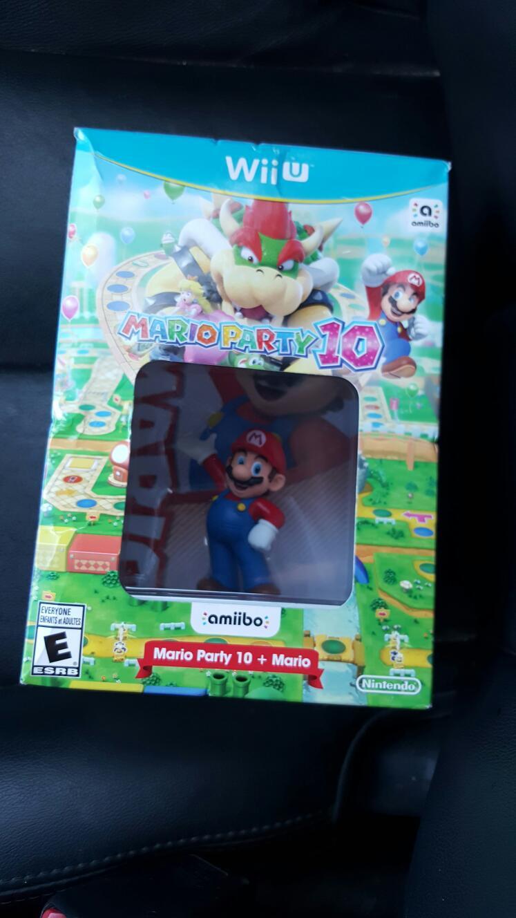Sam's Club: Bundle Mario Party 10 + Amiibo Wii U a $750