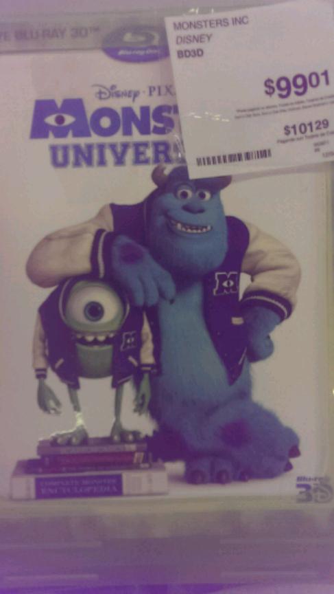 Sam's Club Querétaro: Blu-ray pixar en $80 y $100