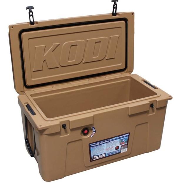 HEB - Hielera Kodi / Cooler para 71.90 litros de capacidad, marca exclusiva de HEB USA