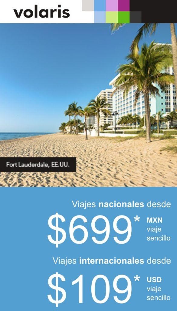 Volaris: vuelos nacionales desde $699 e internacionales desde $109 USD con Vclub