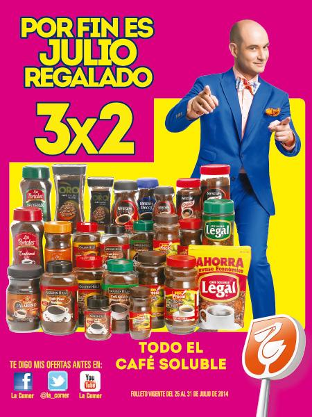 Folleto de ofertas de Julio Regalado del 25 al 31 de julio