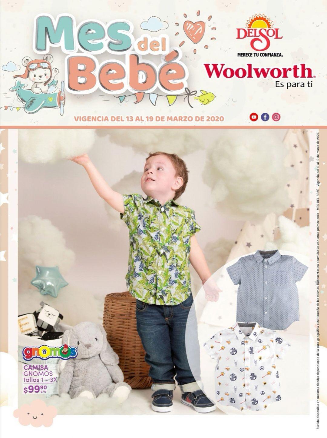"""Woolworth y Del Sol: 3° Folleto """"Mes del Bebé del Viernes 13 al Jueves 19 de Marzo"""