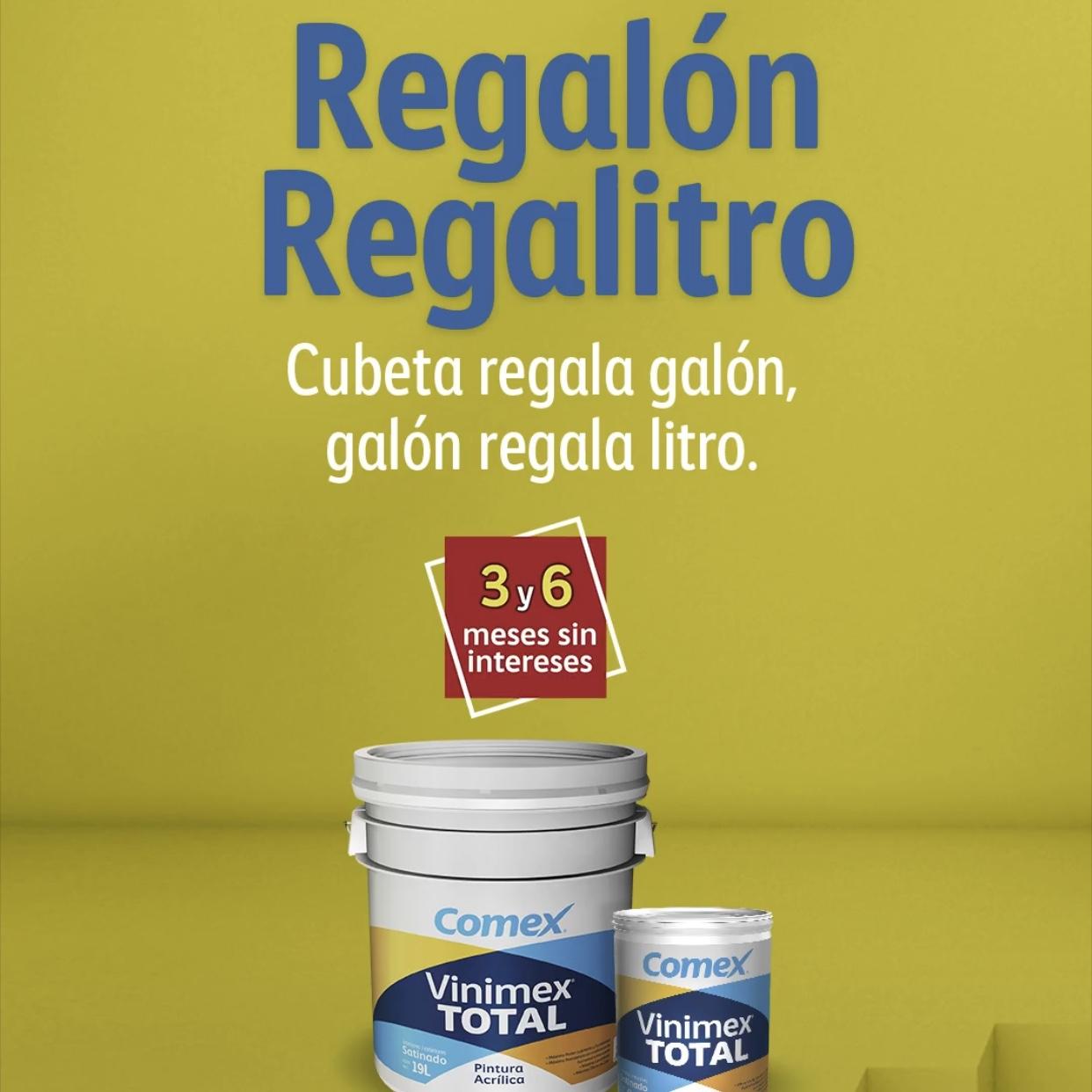Comex: Regalón Regalitro