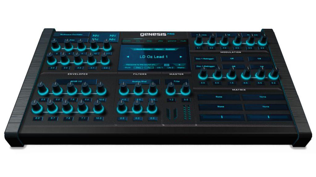 Sintetizador VIRTUAL VST Genesis PRO para WINDOWS