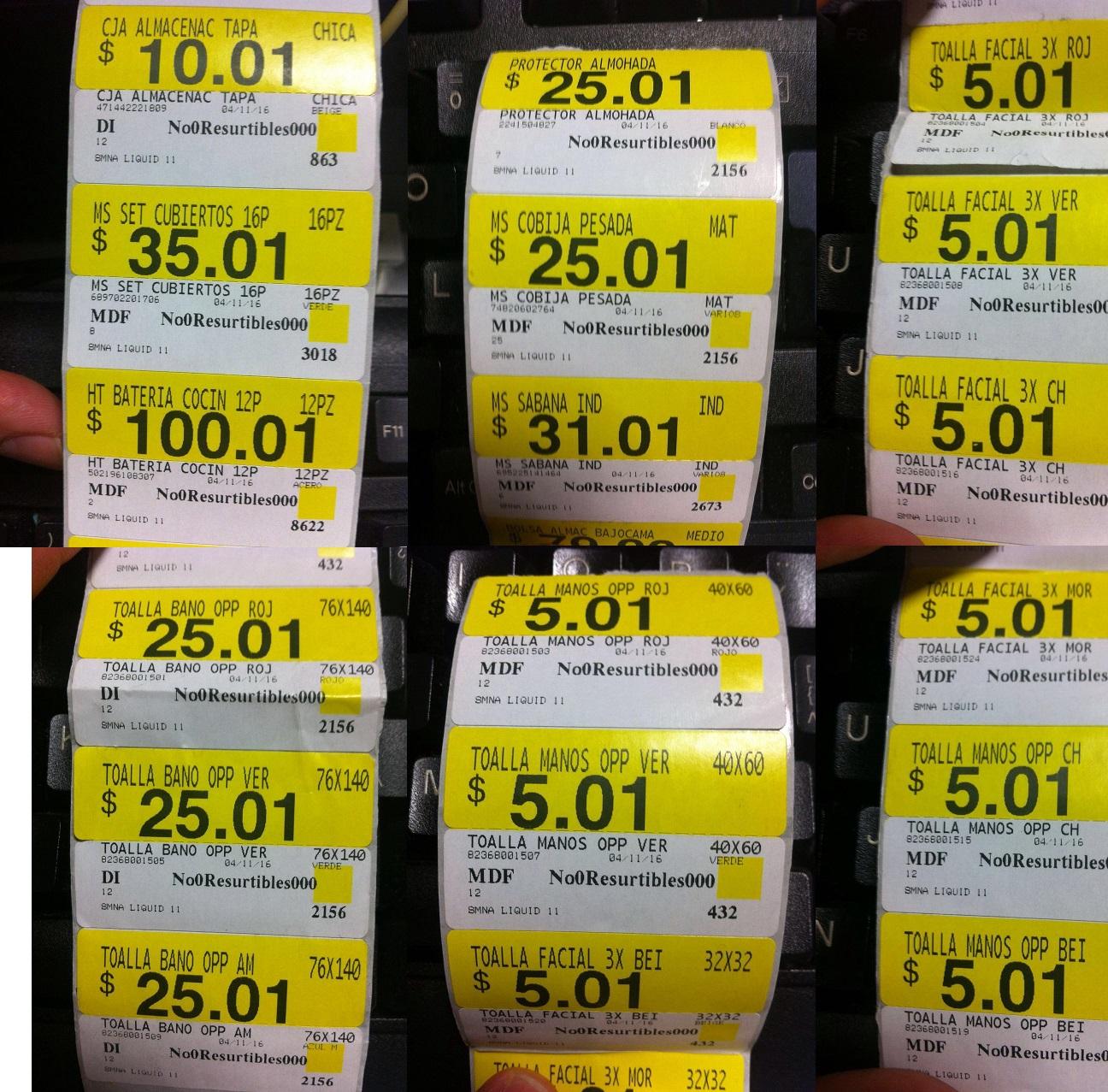 Walmart: Bateria 12p, Protector de Almohada, Cobija, Sabana, Toallas