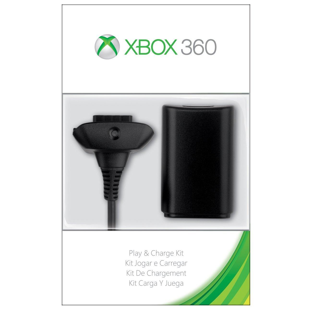 Amazon: kit carga y juega Xbox 360 a $265