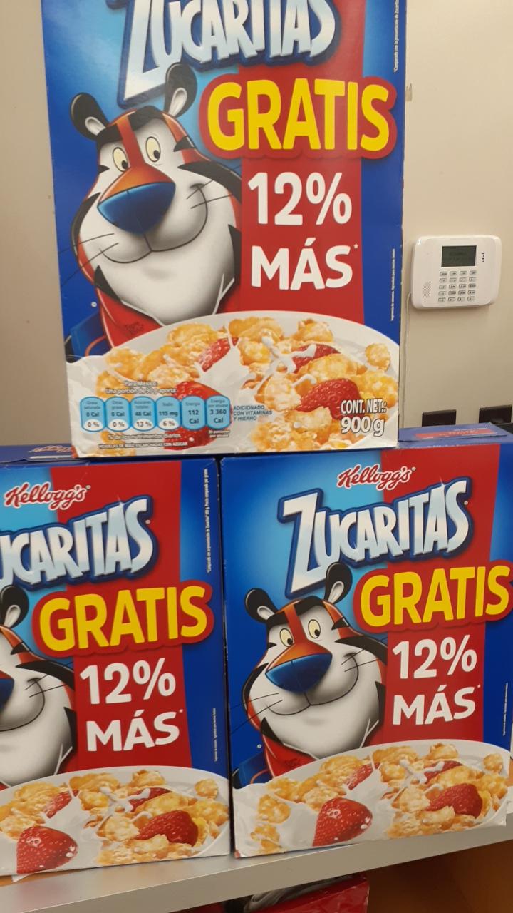 FARMACIAS GUADALAJARA Zucaritas de 900gr $ 19.00