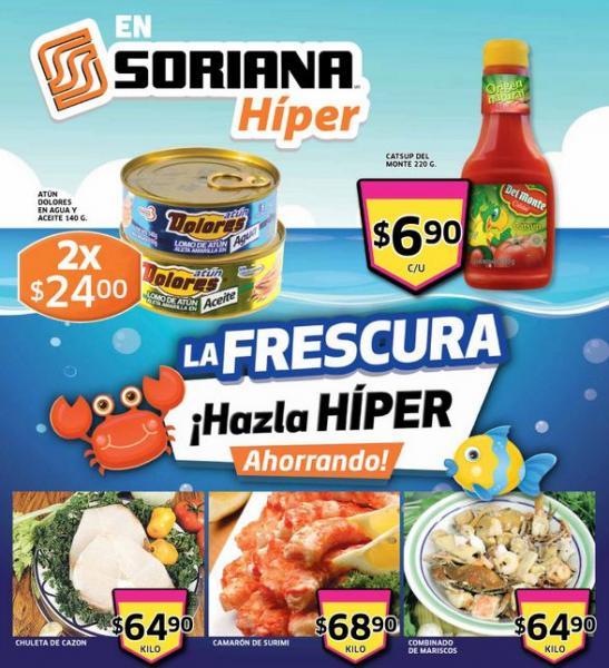 Folleto Soriana: 3x2 en desechables, pañales Babysec Ultra, 30% en ropa interior Zaga y Vicky Form y +