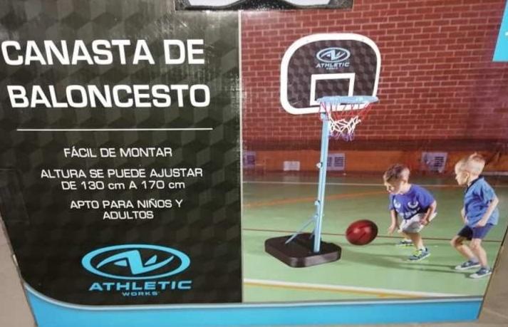 Bodega Aurrera: Canasta de baloncesto
