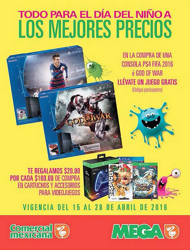 Comercial Mexicana: $20 de descuento por cada $100 de compra en videojuegos y accesorios