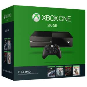 Amazon MX: Consola Xbox One 500 GB + (Rise of the Tomb Raider, Forza 6, GOW UE o Rare Replay) a $5440 con cupón Saldazo