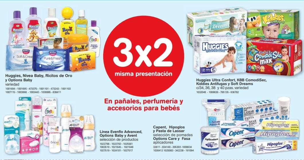 Farmacias Benavides: 3x2 en muchos productos (ej pañales, yoghurt, papel higiénico, biberones)