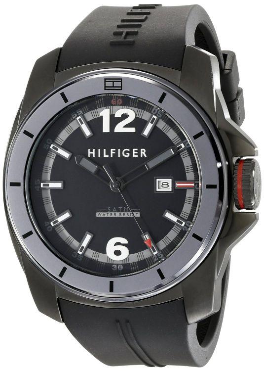 Amazon: reloj Tommy Hilfiger negro 791114 Cool Sport a $868.46