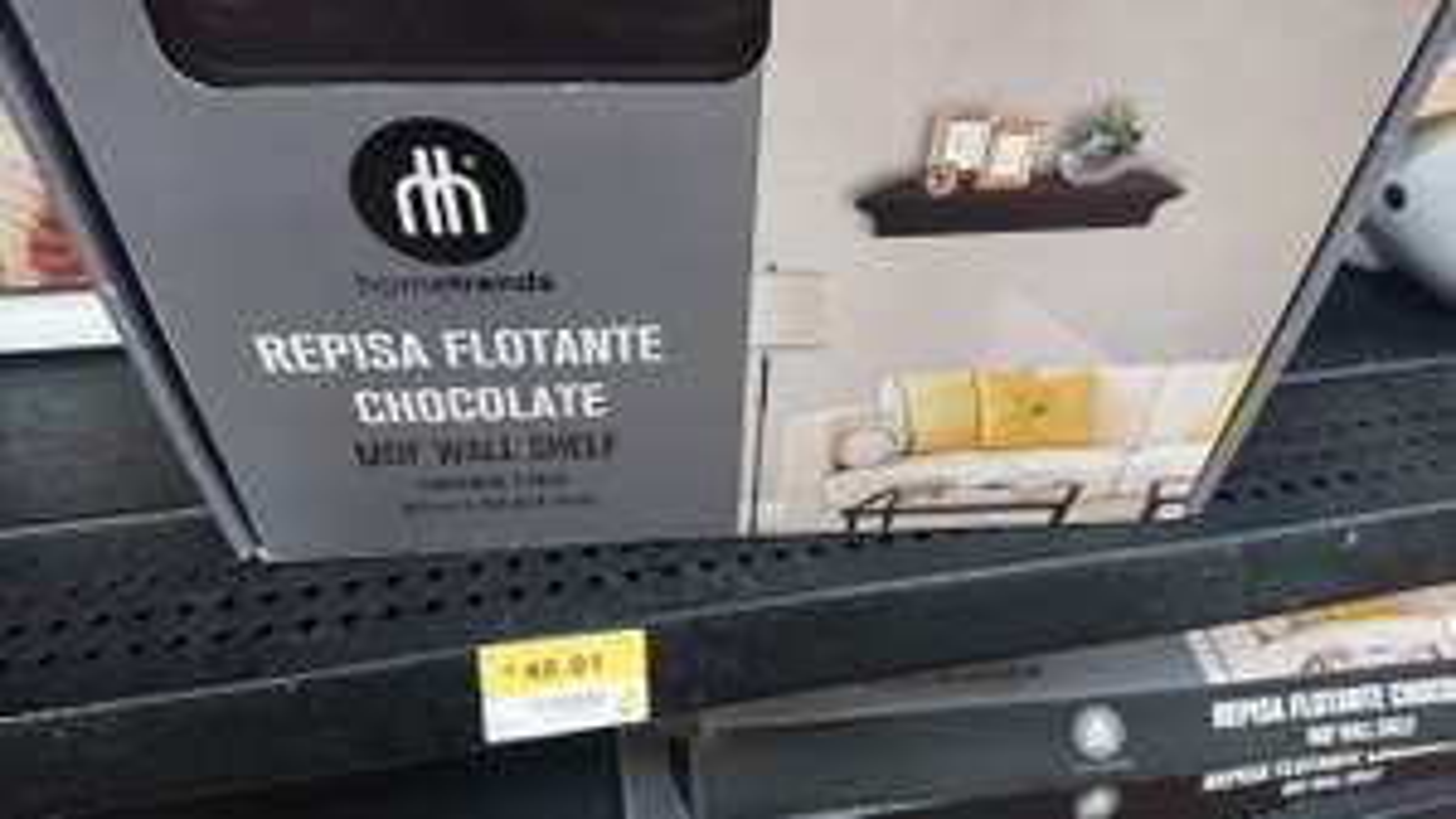 Walmart - Set de repisas flotantes hometrends en última liquidación