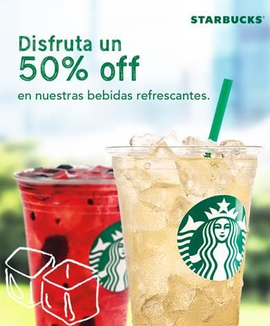Telcel Círculo Azul: obtén 50% de descuento en bebidas refrescantes de Starbuscks