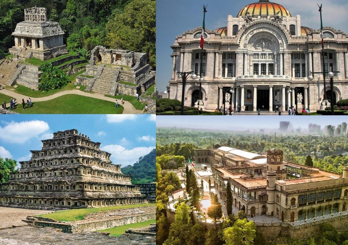Recorridos Virtuales: Castillo de Chapultepec, Bellas Artes, Palenque, Bonampak Y +