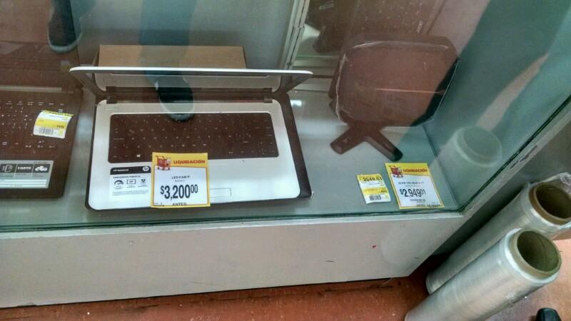 Walmart: Laptop HP a $3,200