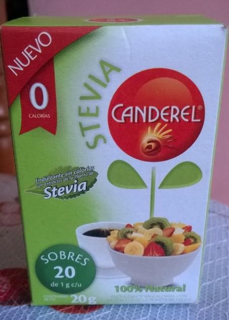 Walmart: Endulzante Canderel con Stevia 20 sobres a $2.01