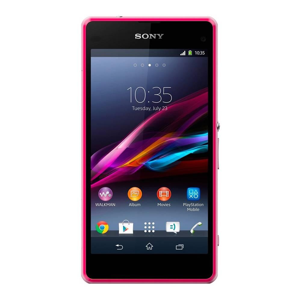 Walmart en línea: Sony Xperia Z1 Compact rosa a $3,999