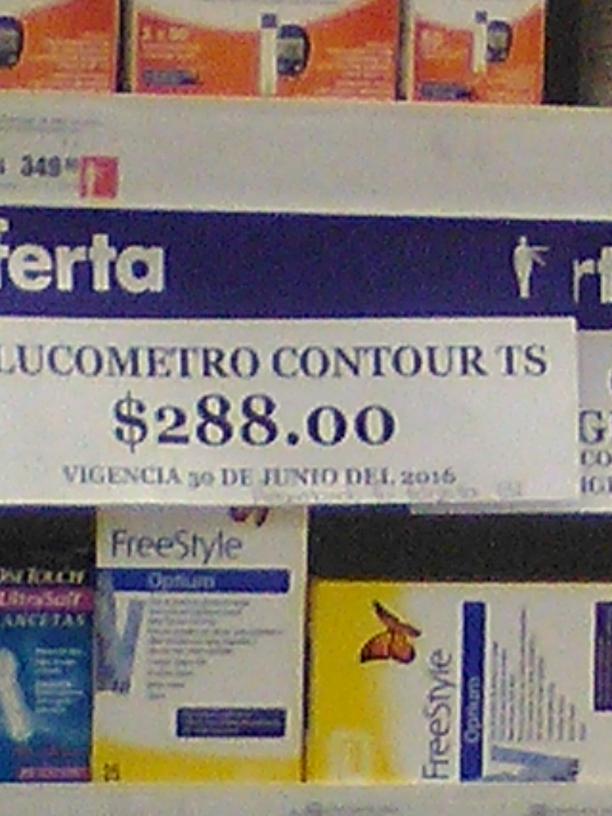 Farmacias Benavides: Glucómetro Contour ts a $288