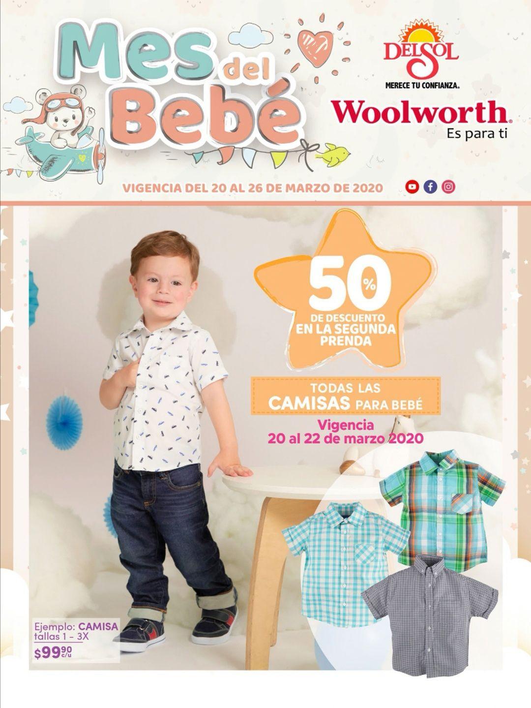 """Del Sol y Woolworth: 4° Folleto """"Mes del Bebé"""" del Viernes 20 al Jueves 26 de Marzo"""