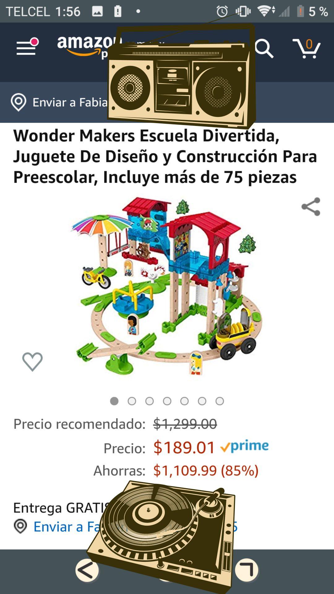 Amazon Wonder Makers Escuela Divertida, Juguete De Diseño y Construcción Para Preescolar