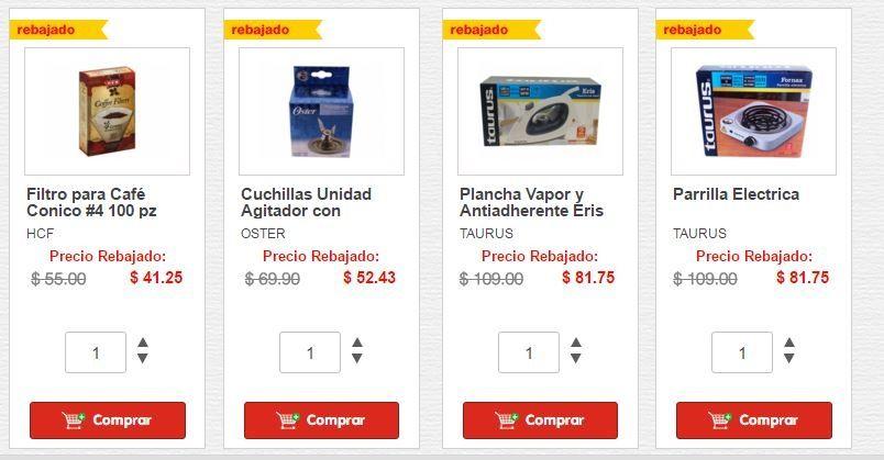 HEB en línea: electrodomésticos con descuento desde $81.75